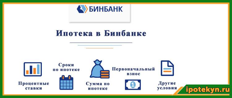 ипотека бинбанк условия